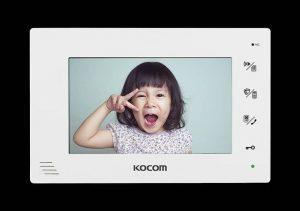 """مانیتور """"KCV-A376  7 هند فری دیجیتال KOCOM کره"""