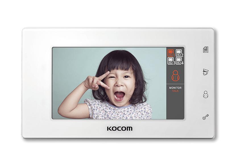 """مانیتورKCV-544 LCD دیجیتال رنگی 7 """" KOCOM"""