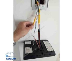 نصب آیفون تصویری کوکوم مدل kcv-376