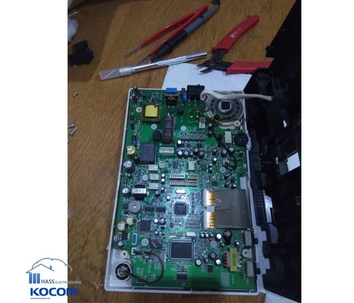هزینه تعمیر آیفون تصویری KOCOM